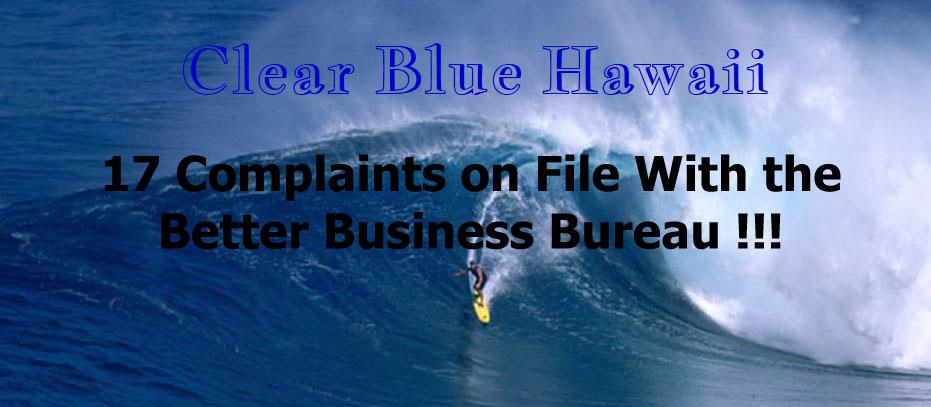 Clear Blue Hawaii Logo